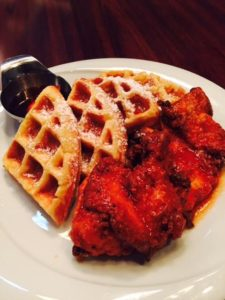 chicken-waffles-bone